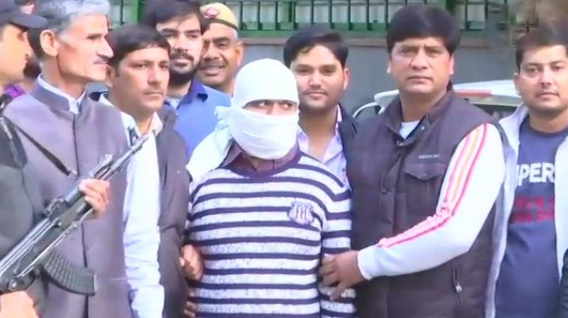 Wanted Indian Mujahideen terrorist Ariz Khan was arrested by the Special Cell of Delhi Police on Wednesday. (Photo: ANI | Twitter)