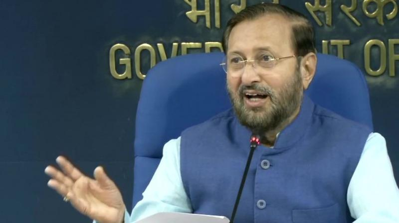The decision will cost the exchequer Rs 16,000 crore, Information and Broadcasting Minister Prakash Javadekar said while briefing media on the decisions taken by the Cabinet. (Photo: ANI | Twitter)