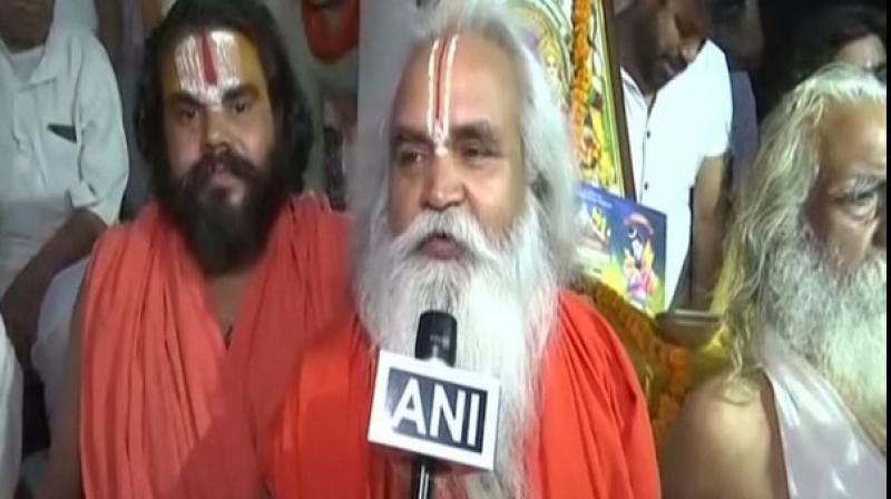 The Ram Janma Bhoomi Nyas asserted that solution of issue is 'already there' but talks are premature. (Photo: ANI)