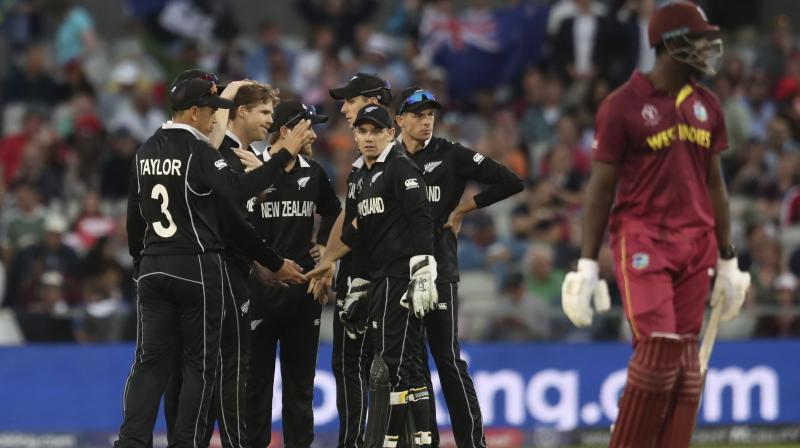 New Zealand will next take on Pakistan on June 26, while West Indies will meet India on June 27. (Photo: AP)