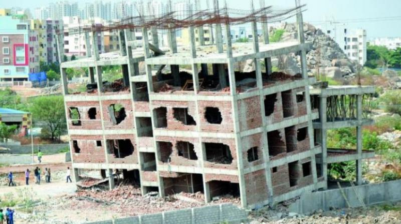 More than one lakh illegal constructions have come up after the Building Regularisation Scheme (BRS) deadline ended in March 2016. (Representional Image)