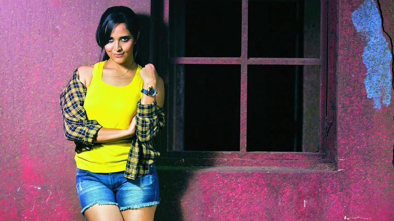 Anasuya will feature in  a song alongside Sai Dharam Tej