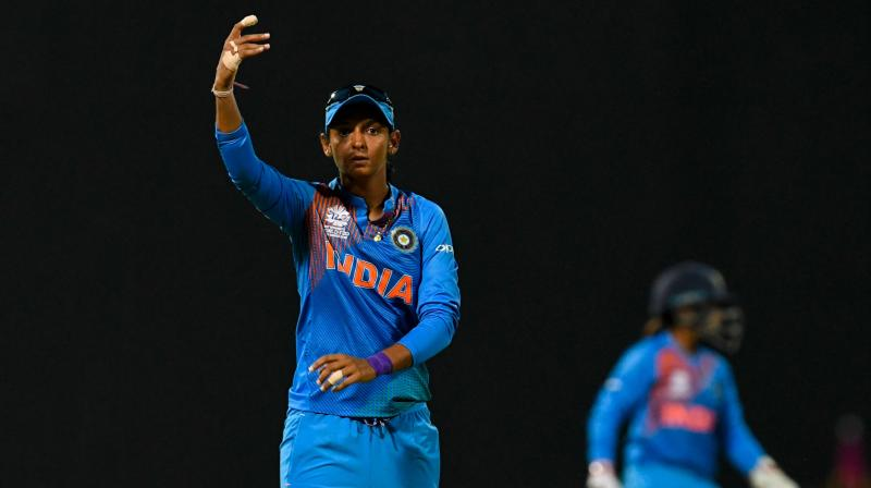 The Indian women won the ODI series 2-1 but Harmanpreet said T20 was a totally different format and the inexperience of her players showed. (Photo: AFP)