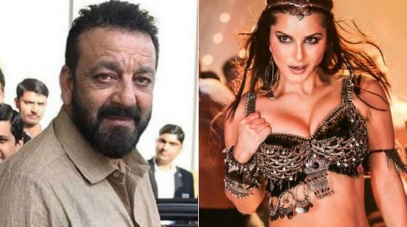 Sanjay Dutt and Sunny Leone in 'Trippy.'