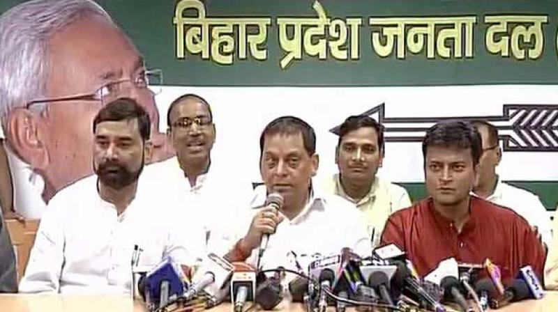 Image result for jd-u spokesperson neeraj kumar