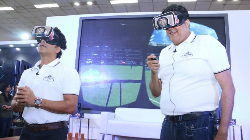 Launched at the CII India Gaming Show (IGS) - a three-day international gaming, animation and infotainment event in New Delhi, the event saw thousands of gamers line up to experience Sachin Saga VR, engaging in exciting head to head matches to win VR Headsets signed by the Master Blaster himself.