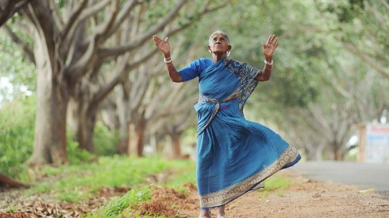 Saalumarada Thimmakka has planted over 8,000 trees during the course of 80 years, reports the BBC. (Credit: Facebook)