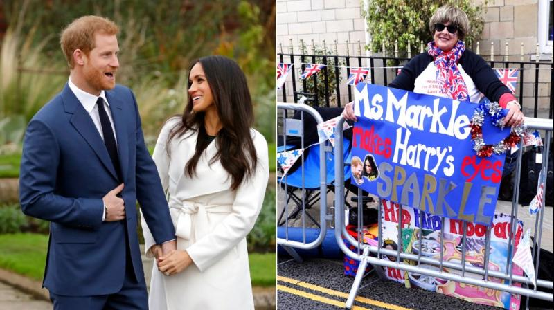 Preparations continue in Windsor ahead of the royal wedding of Britain's Prince Harry and Meghan Markle Saturday May 19. (Photos: AP)