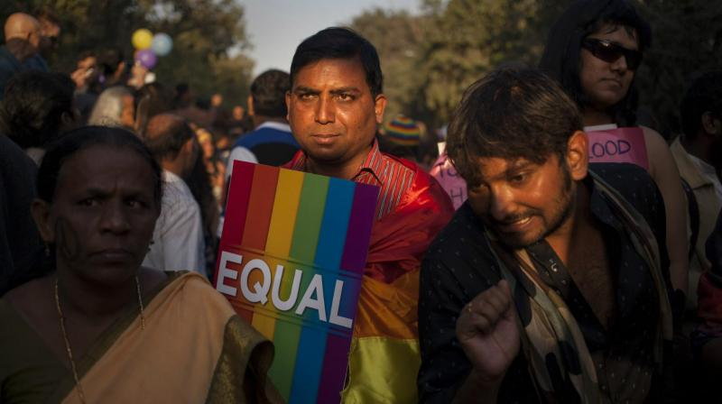 Section 377 of IPC refers to 'unnatural offence' and says whoever voluntarily has carnal intercourse against the order of nature with any man, woman or animal, shall be punished with imprisonment for life, or with imprisonment for a term which may be extended to 10 years, and shall also be liable to pay a fine. (Photo: AP)