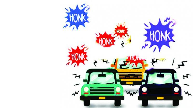 hyderabad noisy horns  silencers come under scanner laugh out loud clip art lud clipart