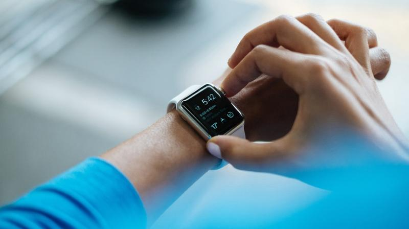 Smart wearable devices, including smartwatches and fitness trackers, are commonly used in sporting activities, to monitor our health and receive push notifications etc. (Representational image) (Photo: Pixabay)