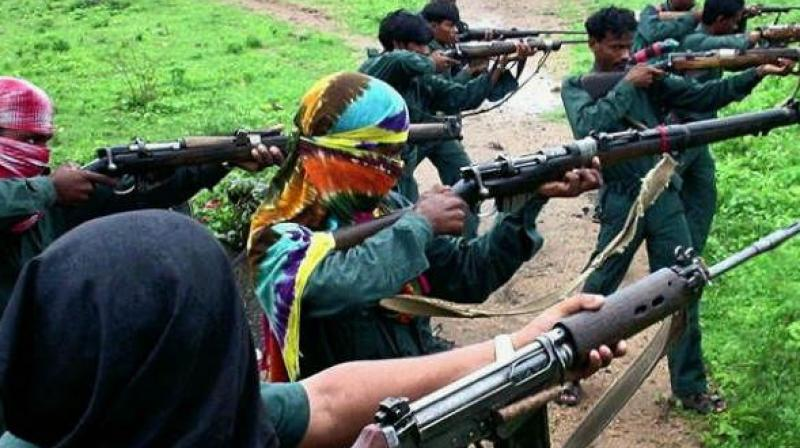 Maoist leader Oggu Satvaji, 53, alias Sudhakar alias Buriyar alias Kiran, surrendered to the police. (Representational Image)