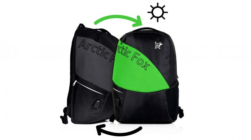 The bags from Arctic Fox come with a built-in USB port and a separate 278b398e89249