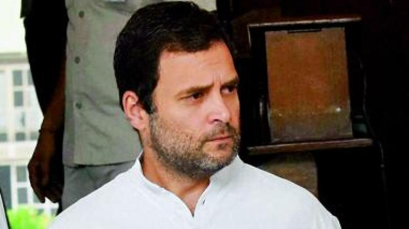 Modi hugs only the privileged: Rahul