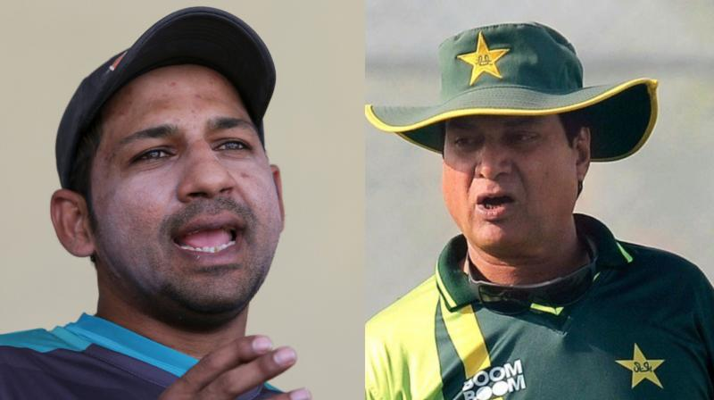 Pakistan Cricket Board (PCB) cricket committee chairman Mohsin Khan, who had reportedly opined that Sarfraz Ahmed should be relieved from his Test captaincy, has denied having any sort of rift with the skipper. (Photo: AP / AFP)