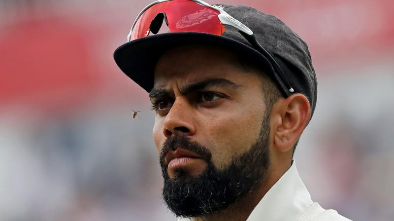 In a video available on his mobile app, Kohli was reading tweets and Instagram messages on November 5 when he came across an user, who said the Indian mainstay has nothing special in his batting. (Photo: AFP)