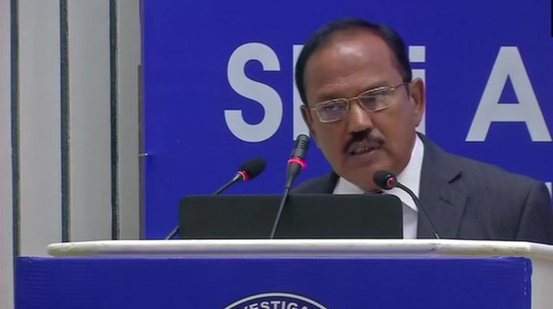 Doval, who was addressing a meeting of the chiefs of the Anti Terrorism Squads (ATS), said the biggest pressure on Pakistan comes from the functionaries of the FATF. (Photo: ANI | Twitter)