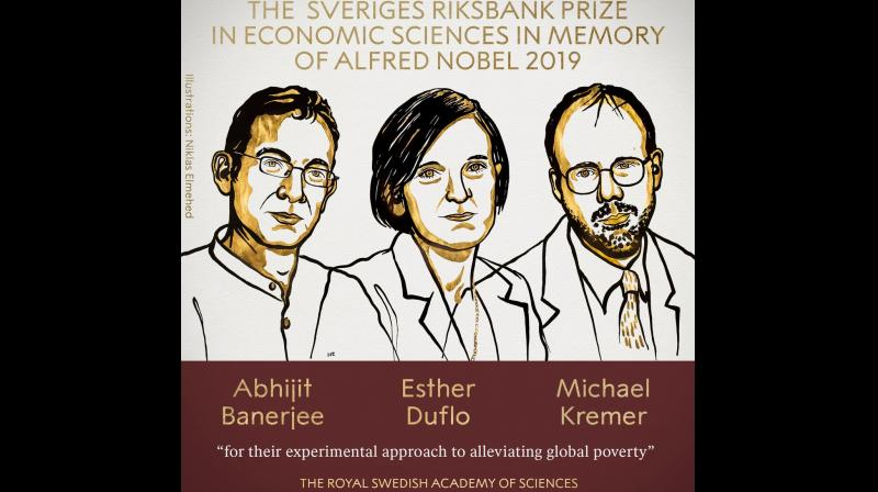 Image result for Abhijit Banerjee, Esther Duflo and Michael Kremer
