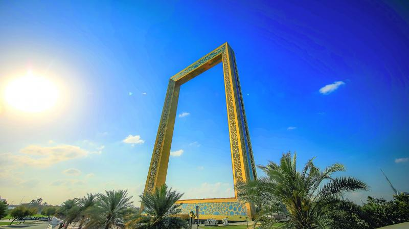 The Dubai Frame is supposed to be the biggest picture frame in the world.