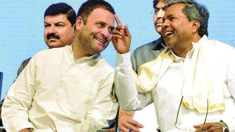 Former chief minister Siddaramaiah on Friday said the Karnataka Congress wants party president Rahul Gandhi to contest the coming Lok Sabha polls from the southern state. (Photo: File)