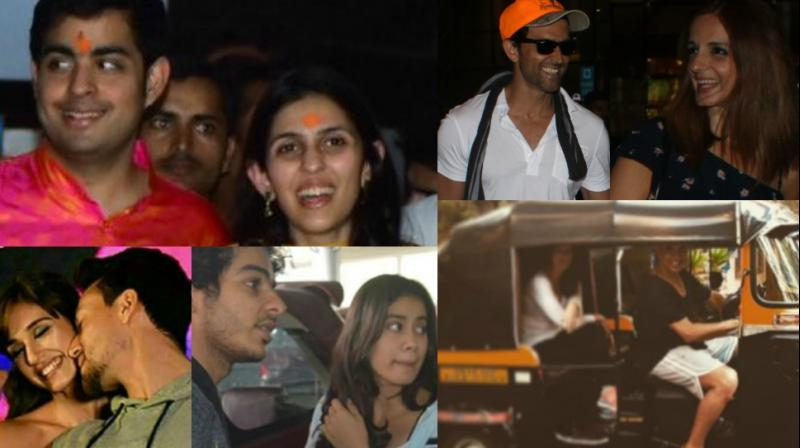 Several celebrity couples were spotted together at various locations in Mumbai, and also in Delhi on Sunday. (Photo: Viral Bhayani/ Instagram)
