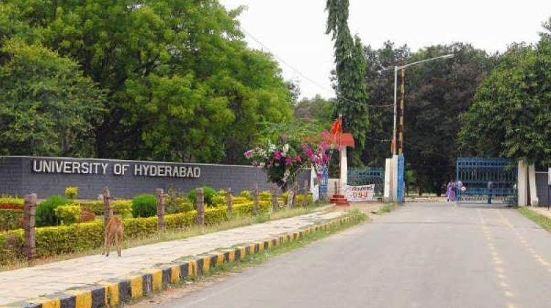 Birbal K Debbarma, a third-semester student of Integrated MA in the Language Science in University of Hyderabad, is hospitalised. (Photo: PTI/File)