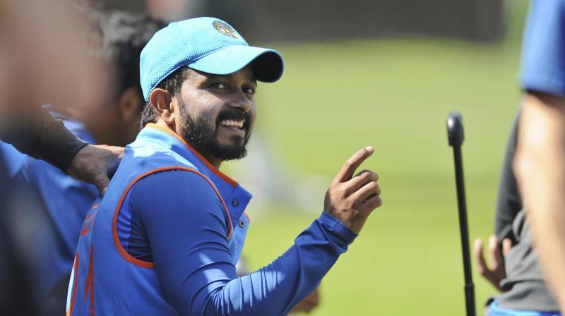 Kedar Jadhav removed both Tamim Iqbal and Mushfiqur Rahim, to swing the momentum India's way, in the Champions Trophy semifinal against Bangladesh. (Photo: AP)