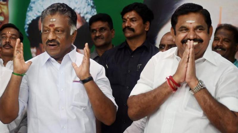 Palaniswami is Tamil Nadu Chief Minister while Panneerselvam is his deputy. (Photo: PTI | File)