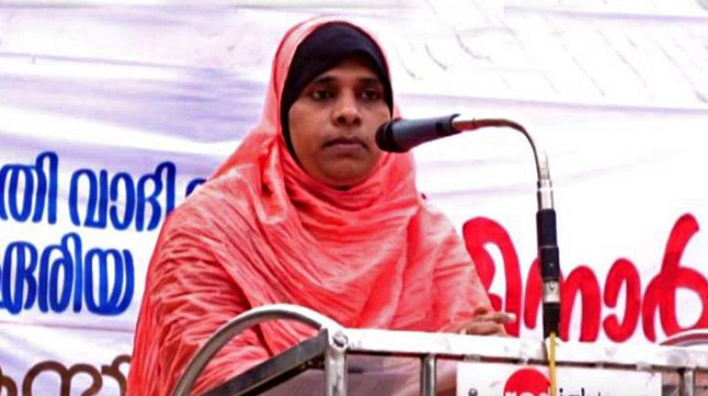 Friday first: Woman who led prayer in Kerala faces backlash