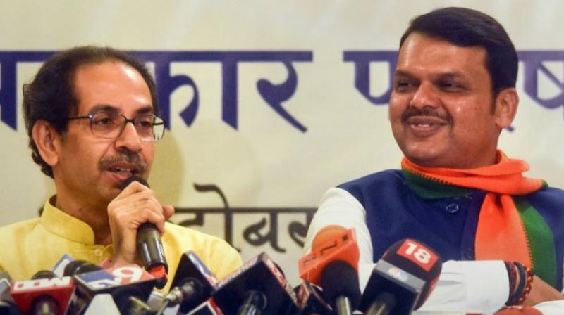 The former BJP president, who arrived here on Friday, had first indicated he would not intervene to break the deadlock between his party and the Shiv Sena over sharing power in Maharashtra. (Photo: File)