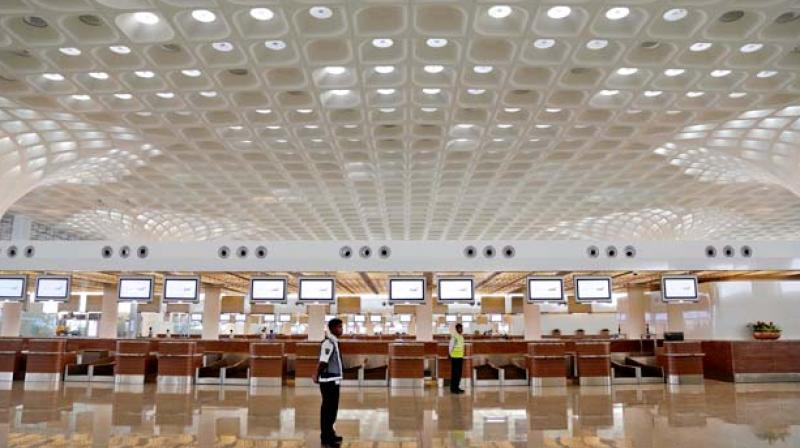 Capacity-constrained Mumbai airport has for the first time crossed 1,000 aircraft movements in a day, breaking its earlier record of 988 single-day arrivals and departures.