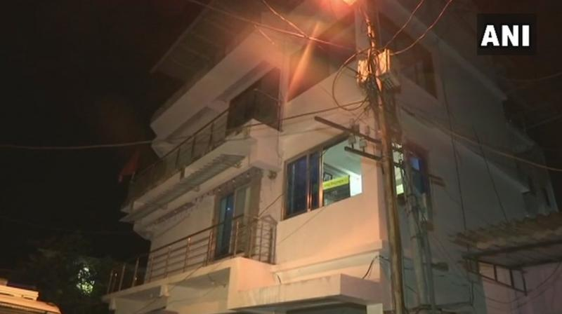 ATS sleuths raided the residence and shop of the accused at Bhandar Aali in Nallasopara late on Thursday night. (Photo: ANI/Twitter)