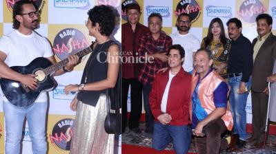 The team of blockbuster 'Qayamat Se Qayamat Tak' held a premiere of the film on the occasion of its 30th anniversary in Mumbai on Saturday. (Photo: Viral Bhayani)