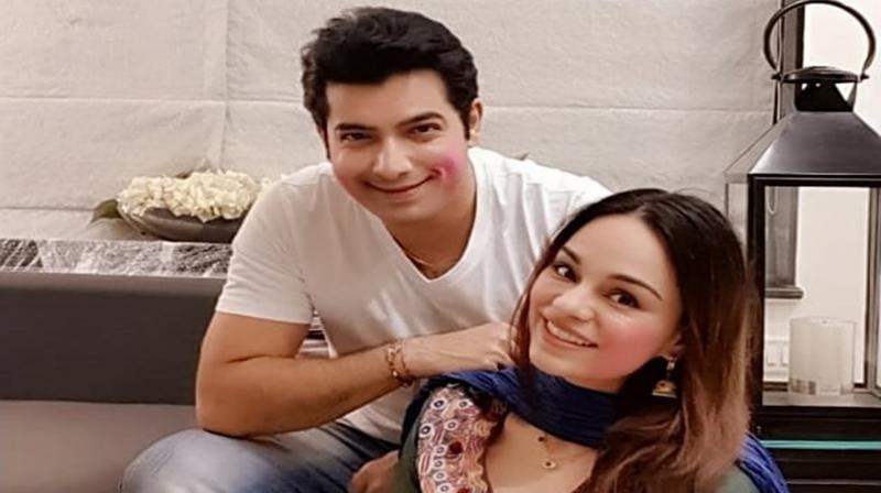 Ssharad Malhotra and Ripci Bhatia. (Photo: Instagram)