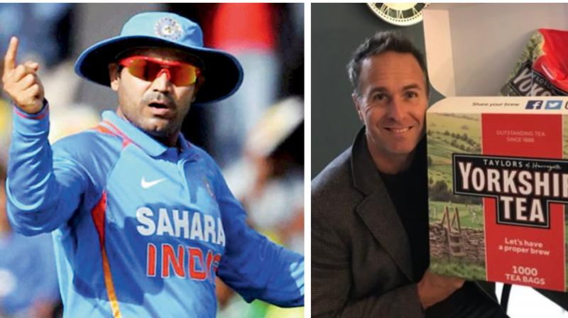 Former Indian opener Virender Sehwag called the match as a tie. (Photo: Twitter)
