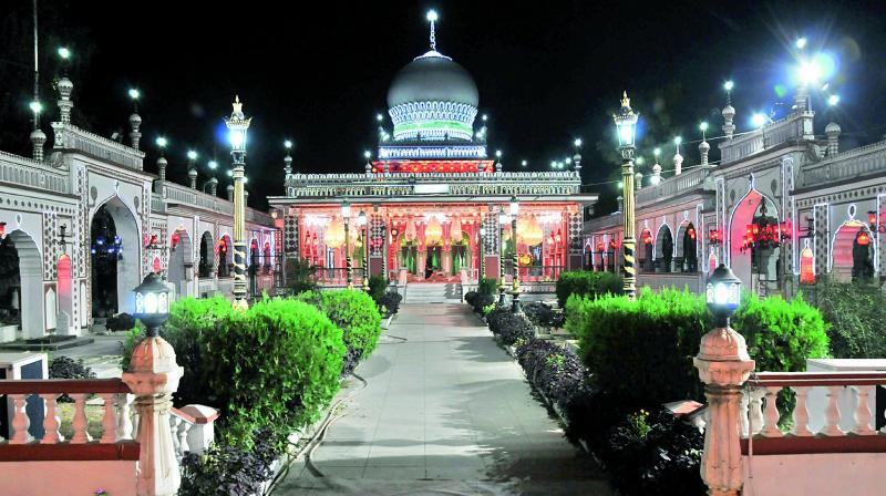 The tomb of Hazrat Shah Mohammed Hasan Sahib Qibla. (Photo: P . Surendra)