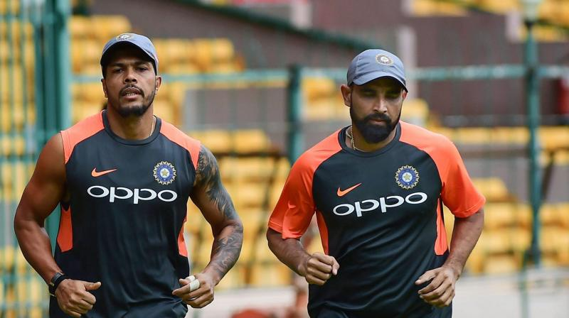 While Mohammed Shami was dropped from the squad in favour of Umesh Yadav, the fans were not pleased with this decision. (Photo: PTI)
