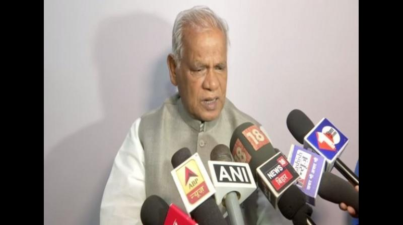 'Congress and the RJD are not hearing our demands. We have told them to make the coordination committee during the Lok Sabha election so that decisions can be taken with the consent of all the parties. But both RJD and NCP are taking decisions independently and are imposing on us, which is why we thought it is better to leave the alliance,' he said while speaking to media in Patna. (Photo: ANI)