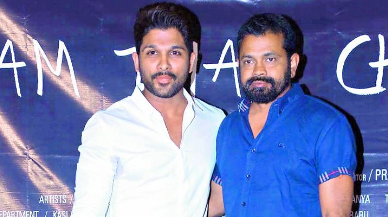 Image result for <a class='inner-topic-link' href='/search/topic?searchType=search&searchTerm=ALLUARJUN' target='_blank' title='click here to read more about ALLUARJUN'>allu arjun</a> sukumar