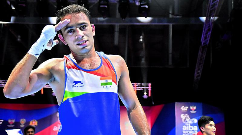 Zoirov defeated Pangal in the summit clash 5-0 in the 52-kg weight category. (Photo: PTI)