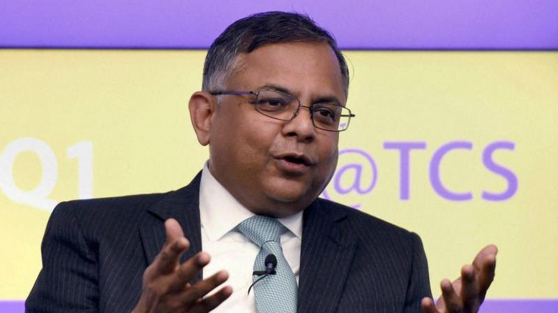 Tata Motors chairman N Chandrasekaran. (Photo: PTI)