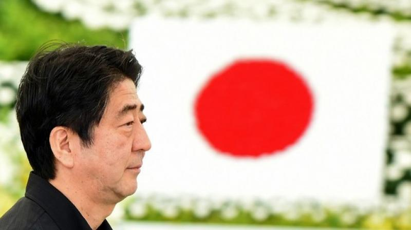 Japanese Prime Minister Shinzo Abe launching India's bullet train close on heels of India's border row with China. (Photo: AFP)