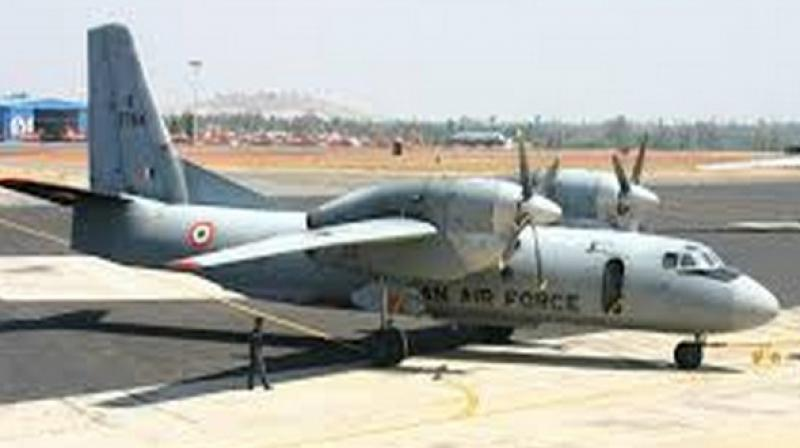 The AN-32 aircraft went missing on June 3 after taking off from Assam's Jorhat.  (Photo: ANI)