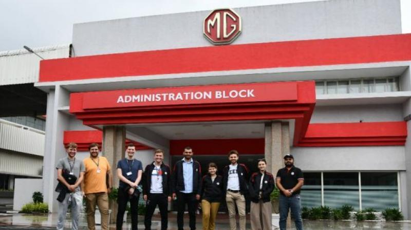 MG Motor India has now launched Bridge, a new internship programme for global professionals.