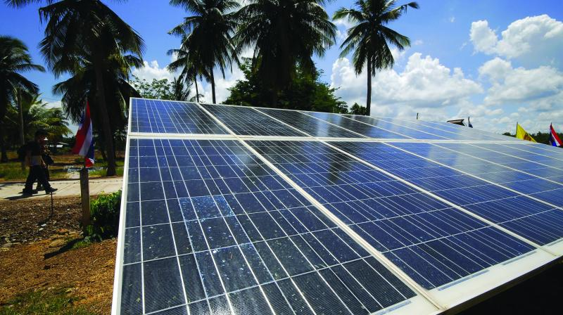 Solar imports drop 40 per cent in January-March
