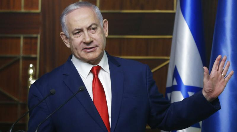 The Syrian army said in a statement that 'the majority of the Israeli missiles were destroyed before reaching their targets'. Conricus, however, said the impact of the Israeli strikes was 'significant'. (Photo: AP)