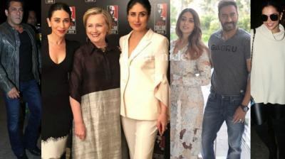 Bollywood stars stepped out for various reasons in Mumbai and New Delhi on Saturday and were spotted by the paparazzi. (Photo: Viral Bhayani/ Instagram)