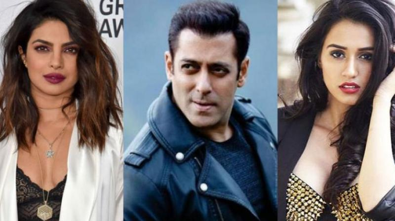 Priyanka Chopra, Salman Khan and Disha Patani.