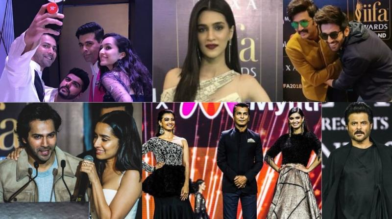 Bollywood stars arrived at the IIFA Awards 2018 in good numbers and geared up for the main event in Bangkok, Thailand. (Photos: Twitter/ @iifa)