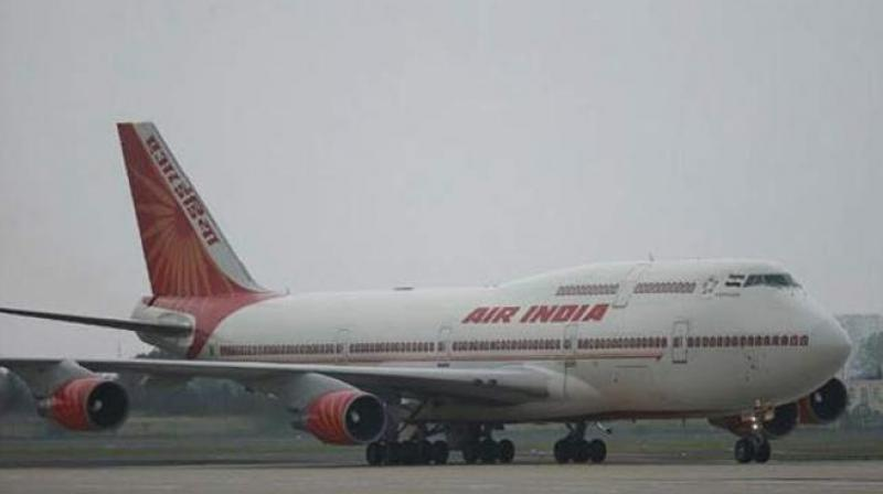 Air India flight hits compound wall at Trichy airport